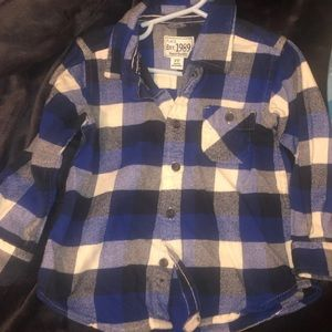 3T boys button up shirt